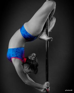 Pole Photoshoot with Dan Habershon-Butcher