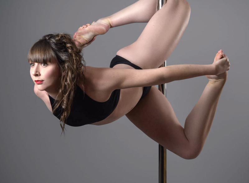 Pole fitness photoshoot