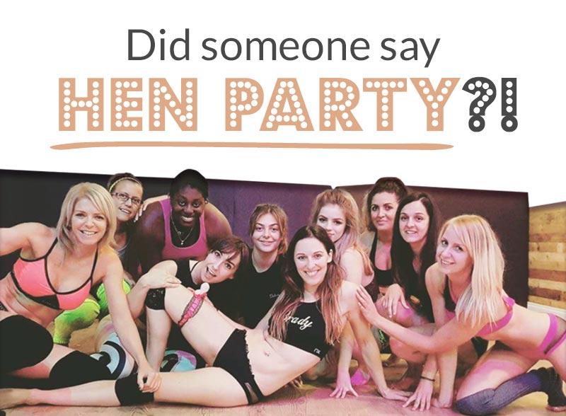 Book a Pole Hen Party
